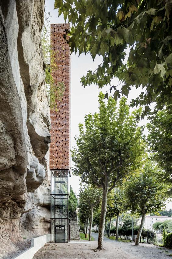 XIII-BEAU - España - Premiado - Nuevo acceso al centro histórico de Gironella