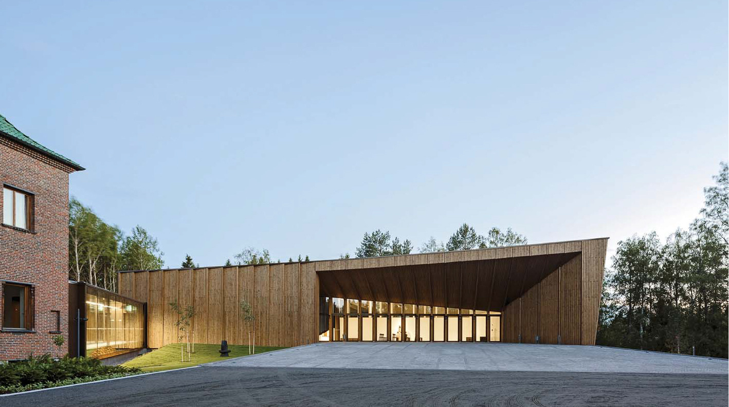 "XIII-BEAU - Finlandia - Premiado - Museo Serlachius ""Gösta Pavilion"""