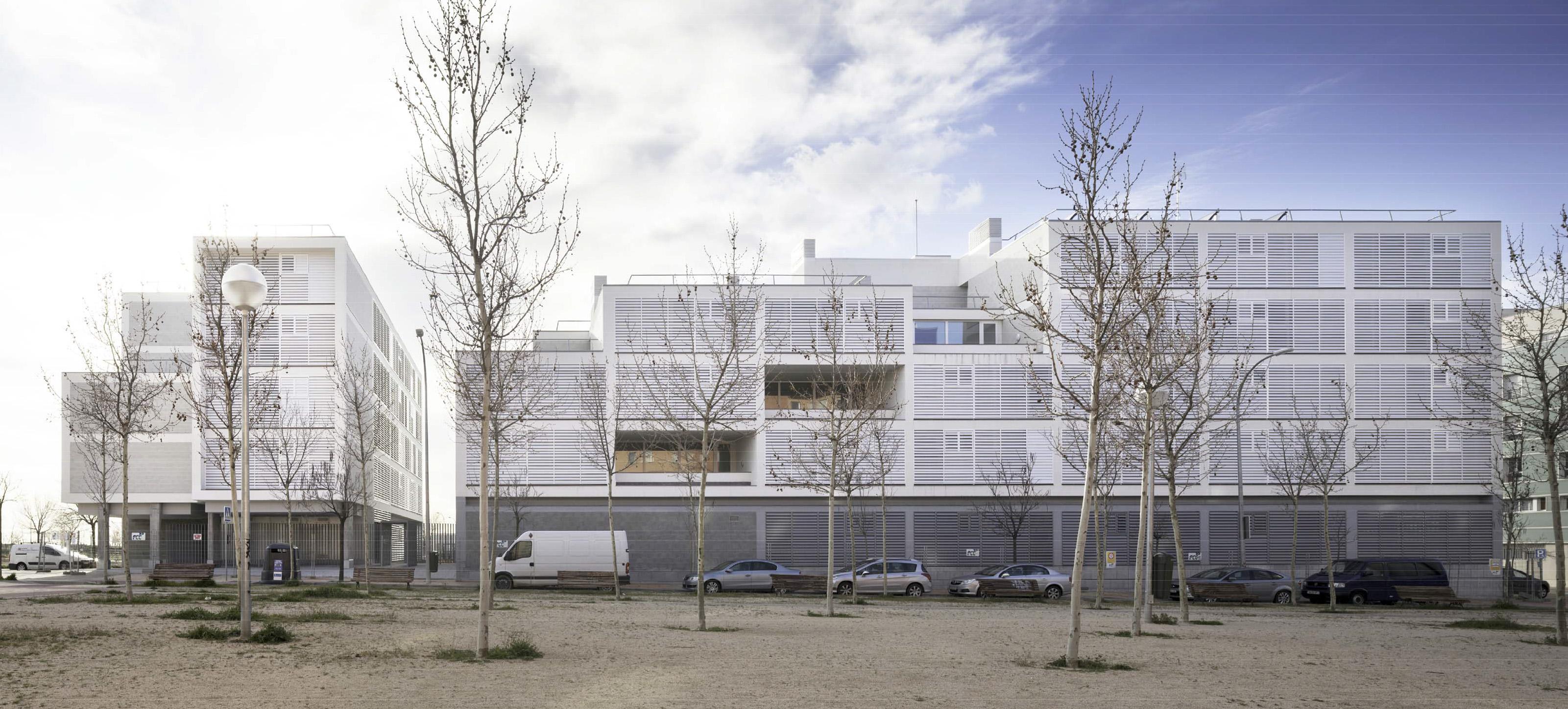 XIII-BEAU - España - Premiado - 163 viviendas de protección oficial en Vallecas